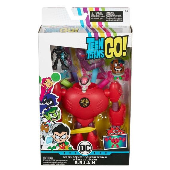 Teen Titans Go Playset De Ação Ciborg - Mattel