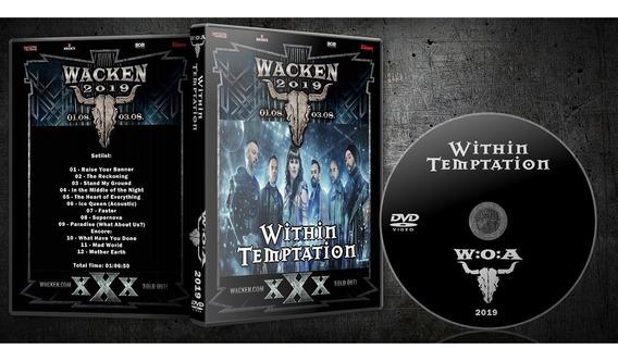 Dvd Within Temptation Wacken 2019