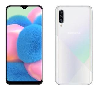 Teléfono Samsung A30s 64gb Blanco - Macrocel