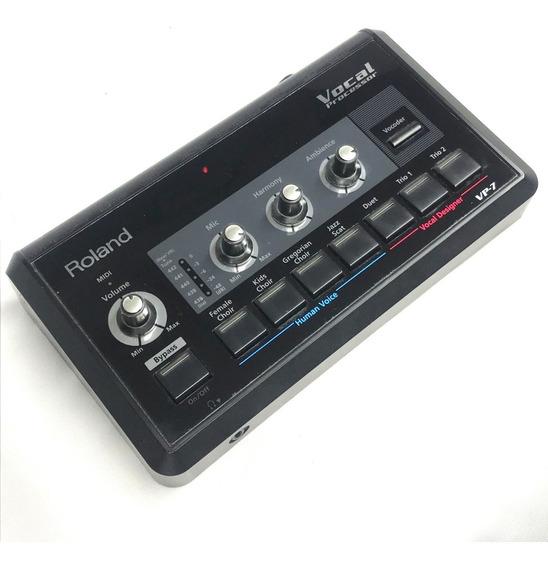 Pedaleira De Voz Roland Vp7 Vocalista Made In Japan - Usad0!