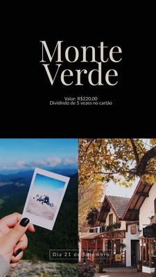 Viagem Para Monte Verde Dia 21/09