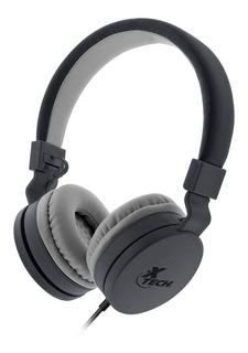 Xtech Auricular Con Microfono Alloy Xth-340 Single Ja Cuotas