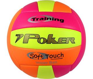 Bola De Vôlei Poker Training Oficial Soft Touch