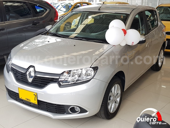 Renault Sandero Dynamique 2017 Bogota Financiamiento Disponi