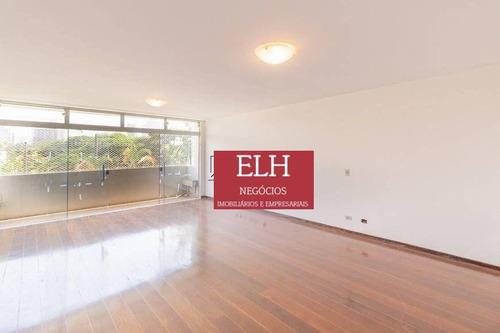 Imagem 1 de 30 de Apartamento Com 3 Dormitórios, 193 M² - Venda Por R$ 3.500.000,00 Ou Aluguel Por R$ 7.000,00/mês - Jardim América - São Paulo/sp - Ap0170