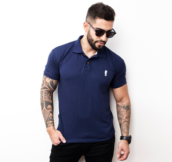 Camiseta Gola Polo Camisa Masculina Extra Plus Size G1 G2 G3