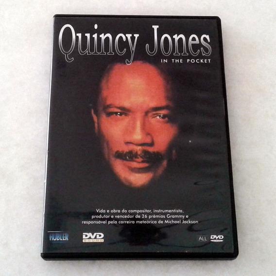 Dvd Quincy Jones - In The Pocket - Excelente Estado