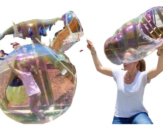 Burbujas Gigantes 2l Para Divertirse A Lo Grande