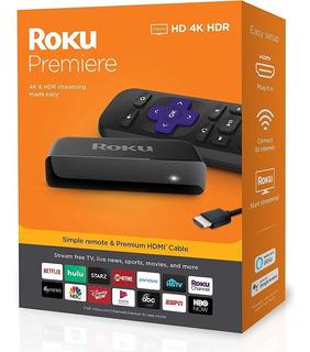 Roku 3920xb Premiere+ 4k Hdr Hdmi (convertidor Smart Tv)