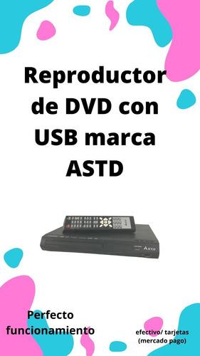 Reproductor De Dvd Con Usb Astd