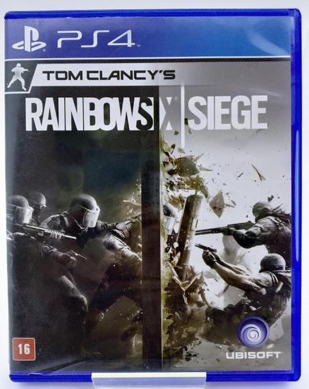 Rainbow Six Siege Ps4 Mídia Física Português Br Loja Física