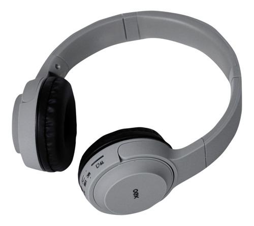 Imagem 1 de 2 de Headphone Oex Bluetooth Pop Hs-315 - Cinza