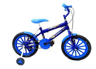 Bicicleta Infantil Masculina Menino Aro 16 Dino Ello Bike