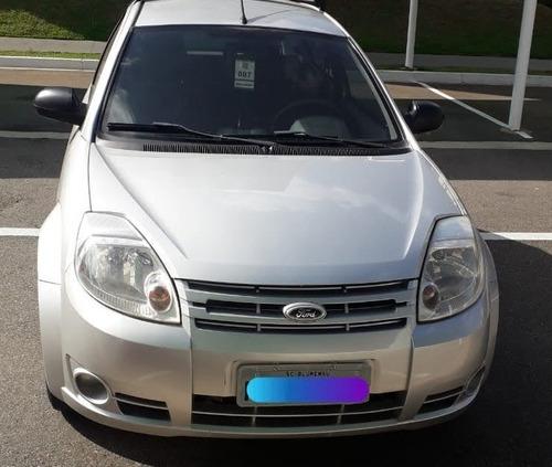 Ford Ka 2 Portas,  Modelo 2011 Prata, Obs: Básico