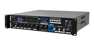 Pyle Amplificador Consultorio O Local 375 Watts Usb Sd Aux
