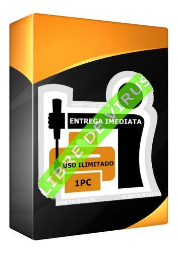 Reset Epson L Modelos L- 100% Libre De Virus - Ilimitado