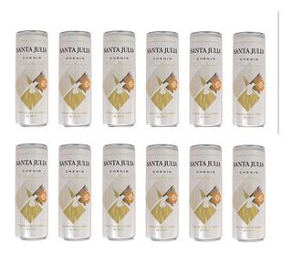 Vino Santa Julia Chenin Dulce Pack X 12 Latas X 355ml