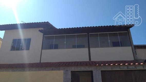 Casa Com 4 Dormitórios, 250 M² - Venda Por R$ 420.000,00 Ou Aluguel Por R$ 1.700,00/mês - Santa Catarina - São Gonçalo/rj - Ca0814