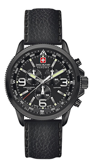 Reloj Swiss Military Hombre Negro 06-4224.13.007
