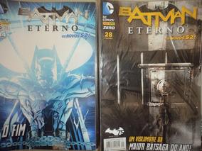 Os Novos 52 Batman Eterno 0 A 48 Completa Panini 2015 Excele