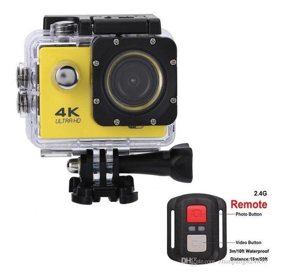 Câmera Para Carro/mergulho 4k Tft 2 Mergulho 30m 16mp Wi-fi