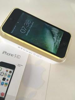 iPhone 5c 16 Gb Amarelo Usado. Leia Tudo E Confira Fotos.