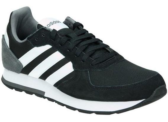Tênis adidas 8k - Masculino - Preto/branco