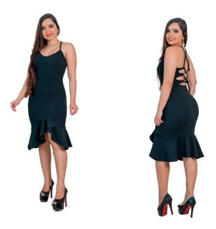 Vestido Midi Em Malha Crepe Dior Com Bojo