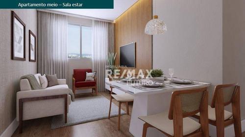Imagem 1 de 30 de Apartamento Com 2 Dormitórios À Venda, 42 M² Por R$ 188.000 - Lançamento Viva Barra Funda - São Paulo/sp - Ap0040