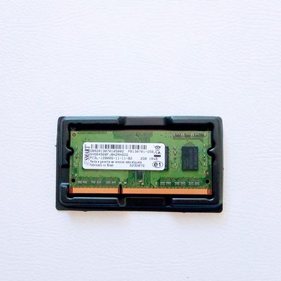 Memória Ddr3 2gb Pc3l-12800s Notebook Usada