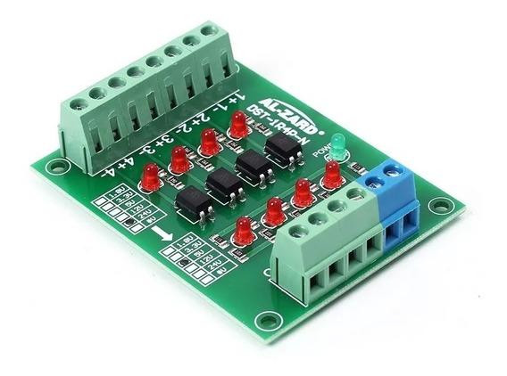 Conversor 24v P/ 5v Isolado C/optoacoplador 4canais Clp C.67