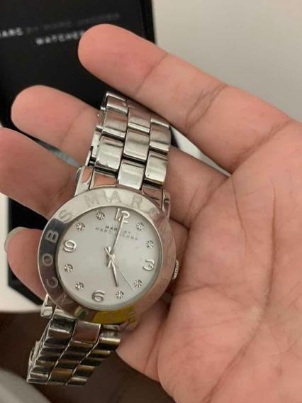 Relógio Marc Jacobs Prata