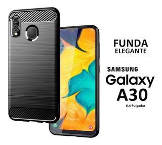 Funda Cover Flexible Elegante Samsung Galaxy A30 Rosario