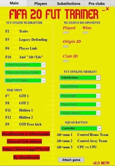 Fifa 20 Ut Trainer Squad Battles/pro Clubs