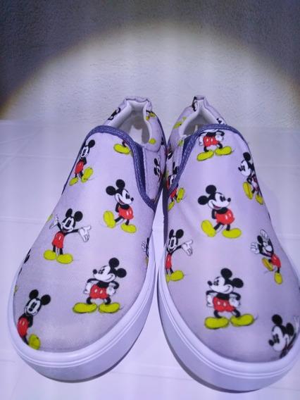 Tenis Mickey Mouse Infantil Oferta