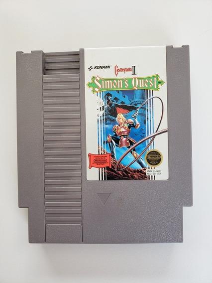 Castlevania 2: Simons Quest Original Nes Nintendinho
