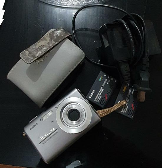 Câmera Digital Casio Exilim Ex-z75