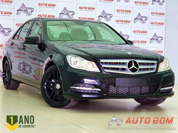 Mercedes Benz C180 Cgi 1.8 Blueefficiency C/piloto Aut. 2012