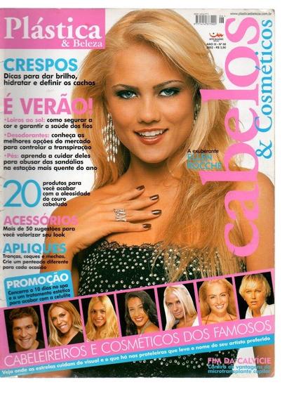 Revista Plástica E Beleza Ellen Roche - Xuxa Daniel 2002