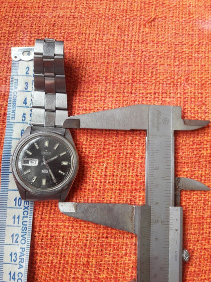 Relógio Antigo Seiko 5 6119 Automático Leia A Descrição