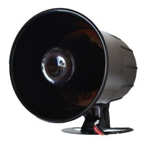 Sirene Corneta Magnética Alta Potência 120 Db Securi Service