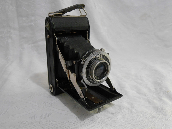 Antiga Maquina Fotografica De Fole Marca Kinax France