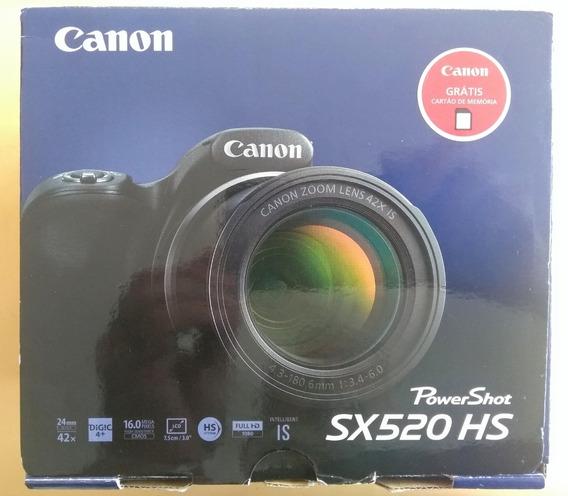 Canon Power Shot Sx 520 Hs - Câmera Pouco Uso - Desapego