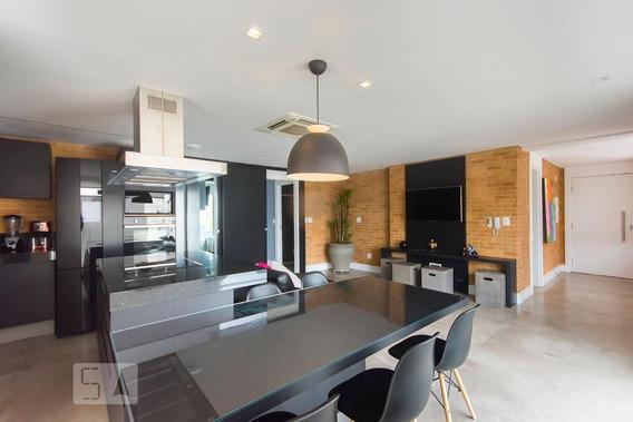 Apartamento No 21º Andar Mobiliado Com 2 Dormitórios E 2 Garagens - Id: 892987734 - 287734