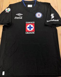 Camisa Cruz Azul 2014 Pavone #20 Liga Mexicana Preta