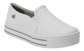 c2a41c4a3 Tenis Slip On Branco Via Marte - Calçados, Roupas e Bolsas com o ...