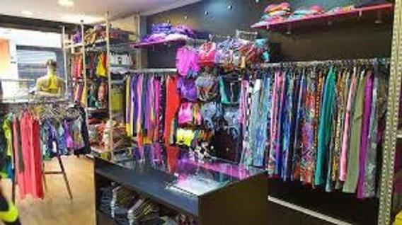 Loja Roupas Shopping Gonzaga Gar Lucro Lq 8mil Mov40 Preço 8