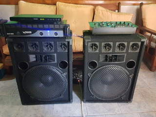 Mezcladora, Baffles Y Amplificador