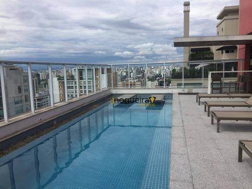 Imagem 1 de 25 de Apartamento Para Alugar, 47 M² Por R$ 2.600,00/mês - Campo Belo - São Paulo/sp - Ap15668