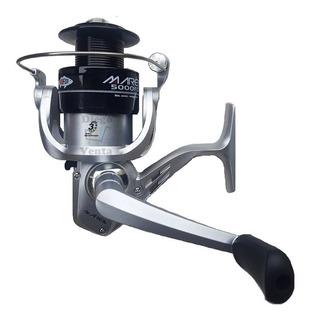Reel De Pescar Black Silver Para Rio Pesca Variada